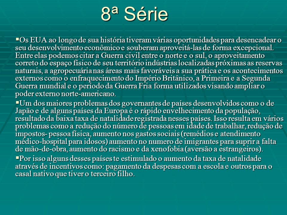 8ª Série
