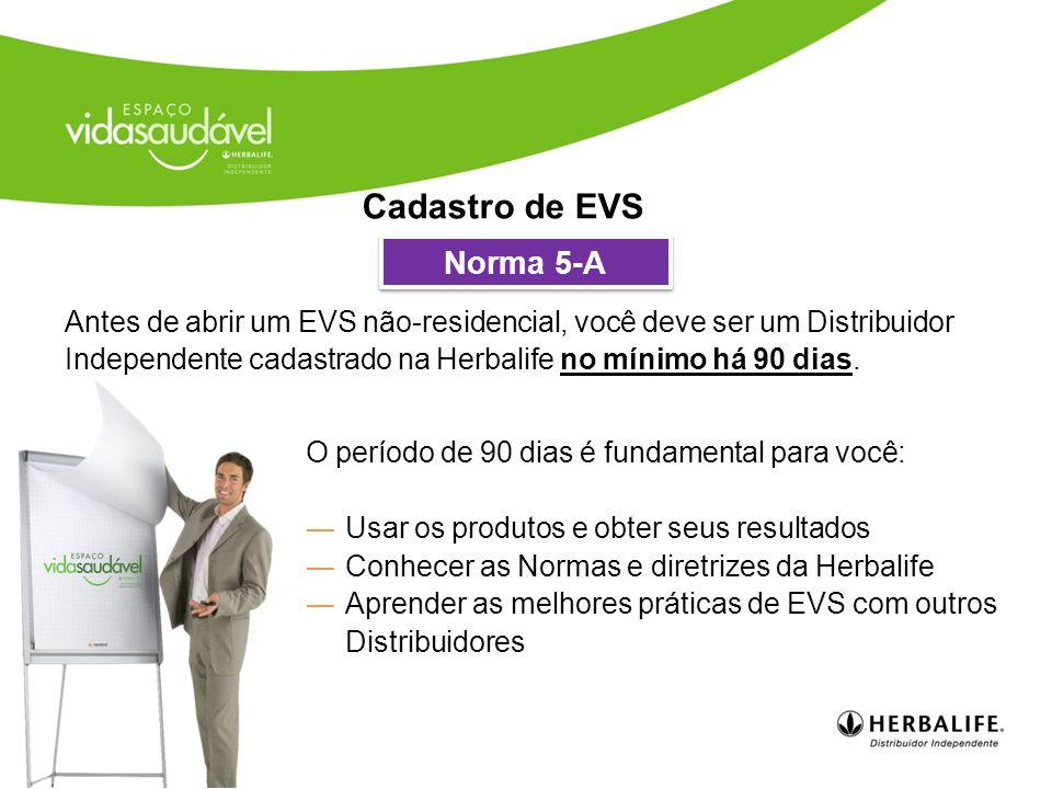 Cadastro de EVS Norma 5-A