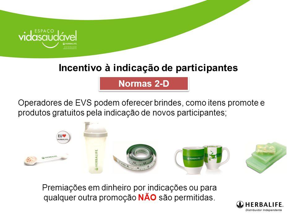 Incentivo à indicação de participantes