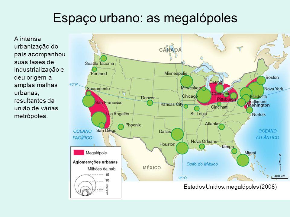 Espaço urbano: as megalópoles