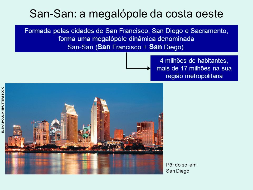 San-San: a megalópole da costa oeste