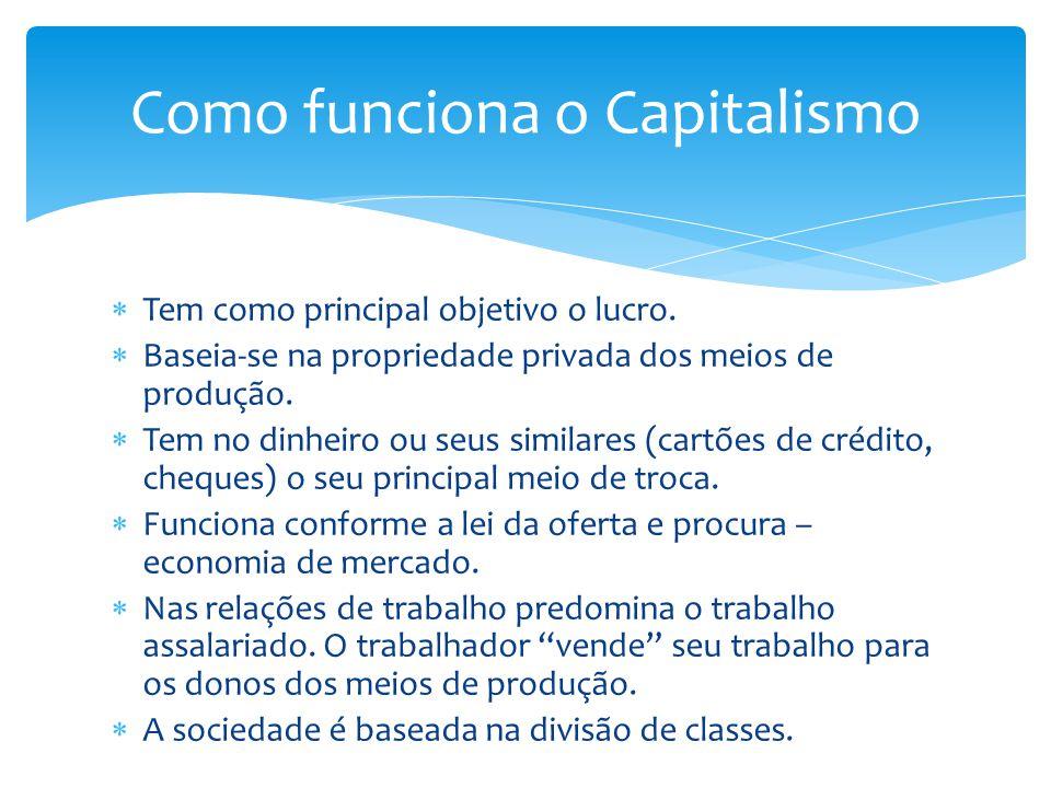 Como funciona o Capitalismo