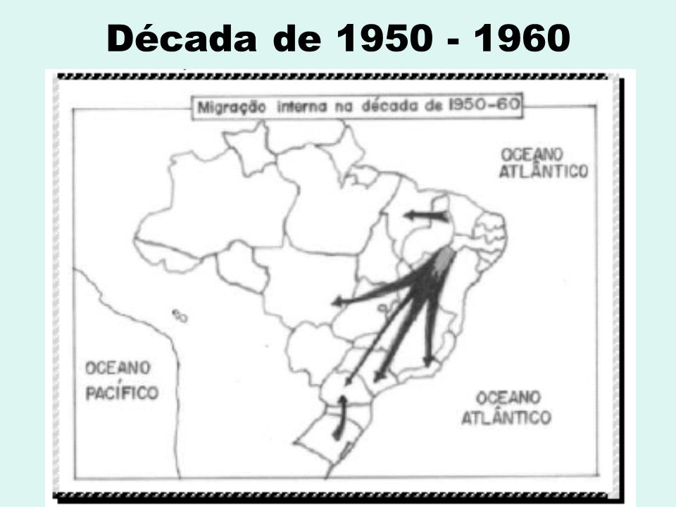 Década de 1950 - 1960