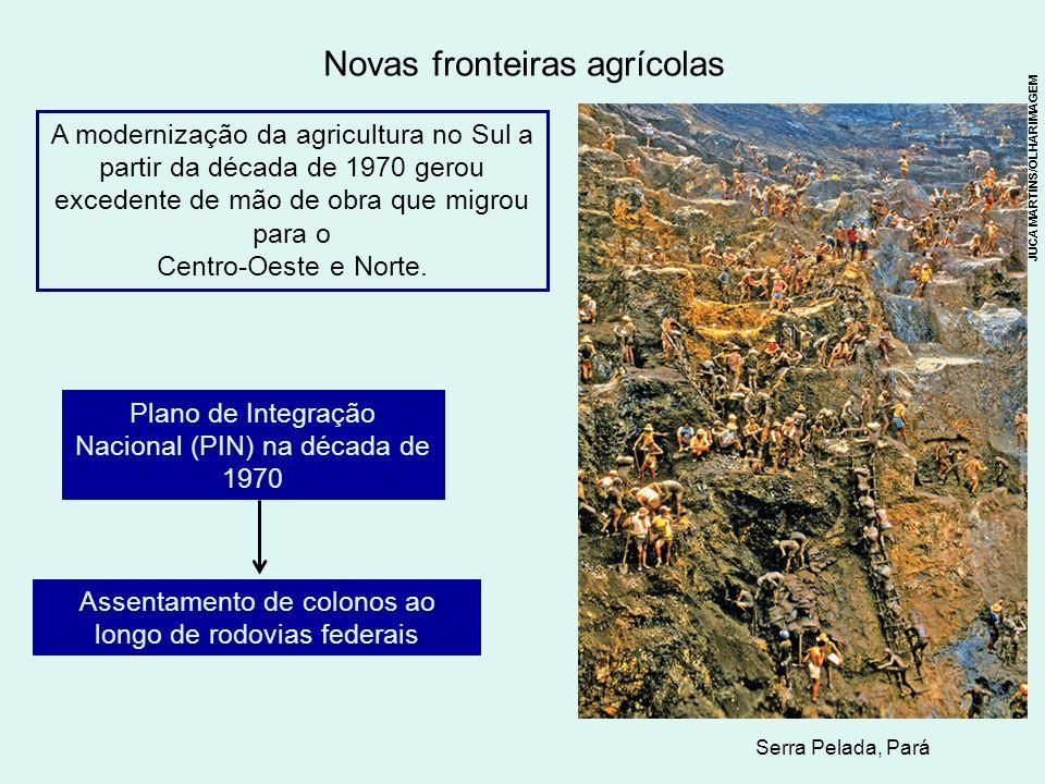 Novas fronteiras agrícolas