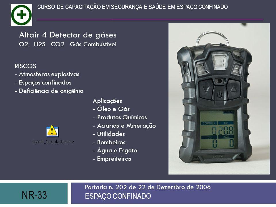 Altair 4 Detector de gáses