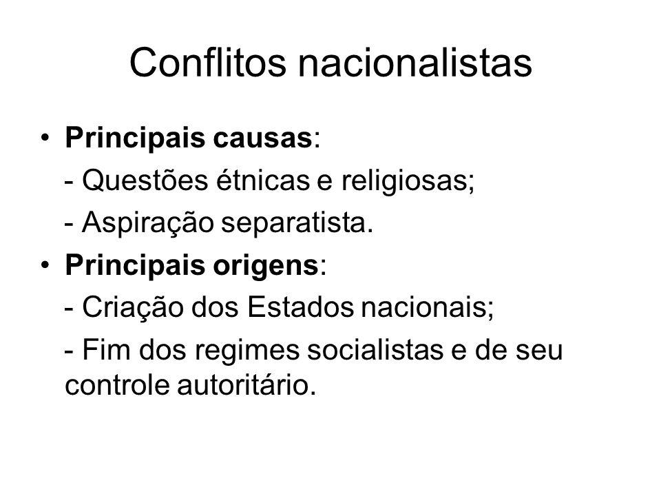 Conflitos nacionalistas