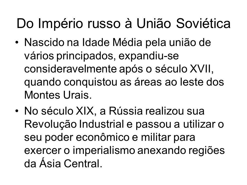 Do Império russo à União Soviética