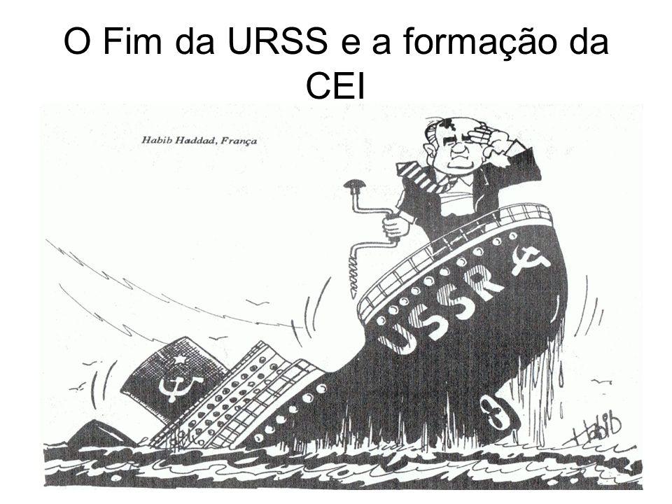 O Fim da URSS e a formação da CEI