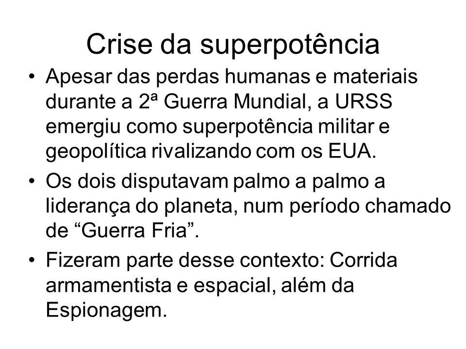 Crise da superpotência