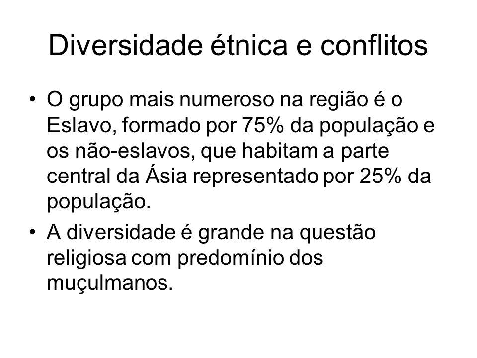 Diversidade étnica e conflitos