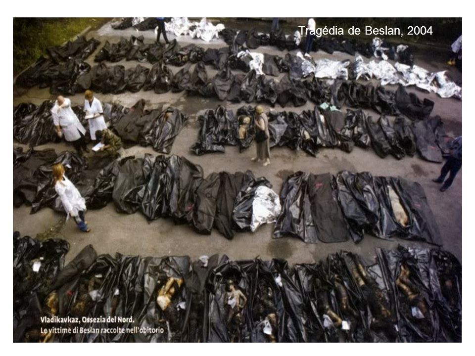 Tragédia de Beslan, 2004