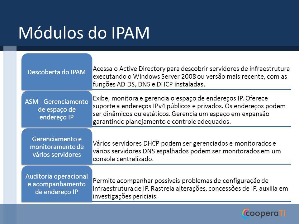 Módulos do IPAM