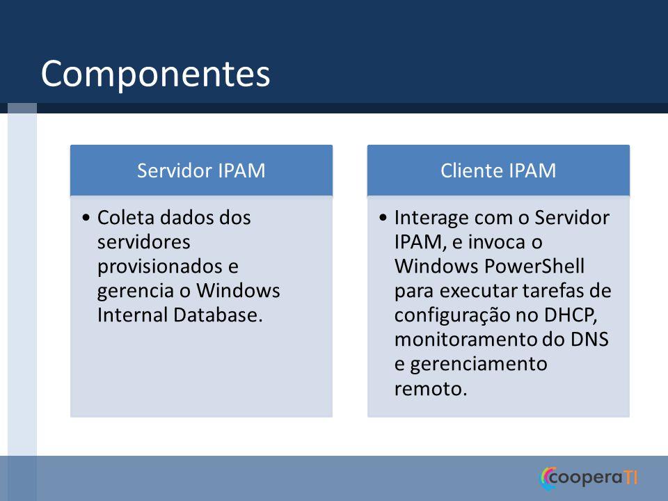 Componentes Servidor IPAM