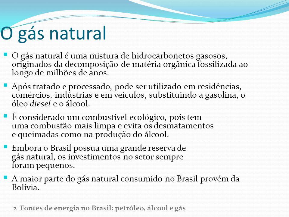 O gás natural