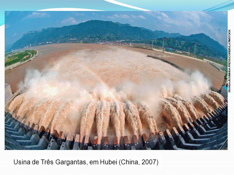 Usina de Três Gargantas, em Hubei (China, 2007)