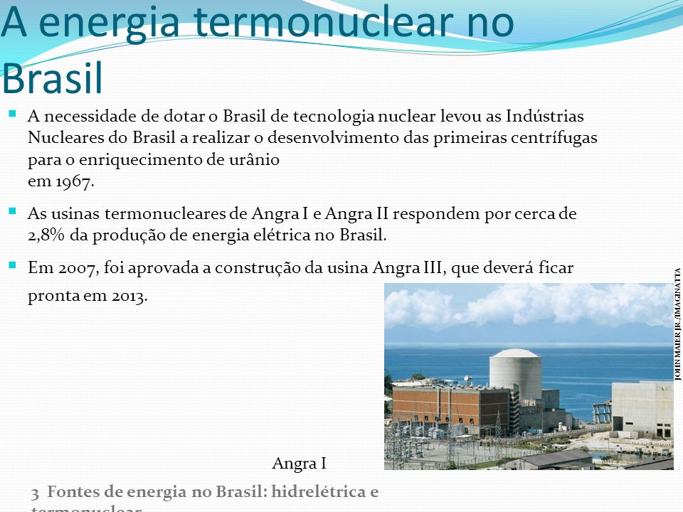 A energia termonuclear no Brasil
