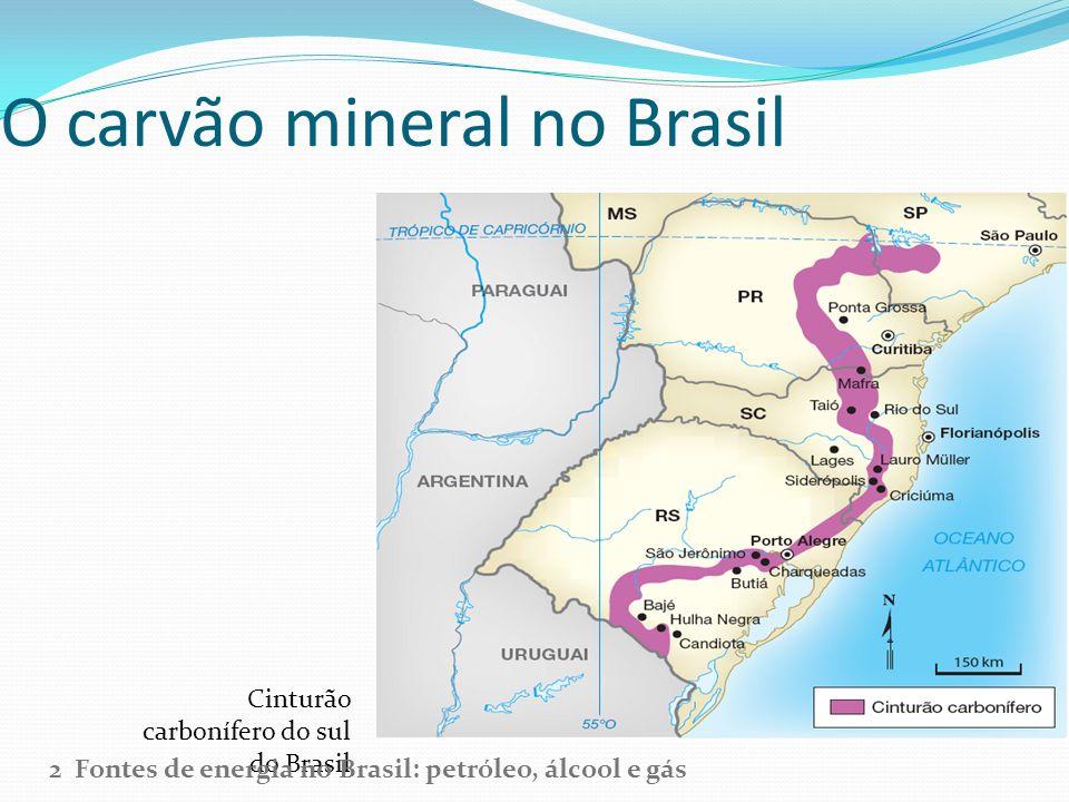 O carvão mineral no Brasil