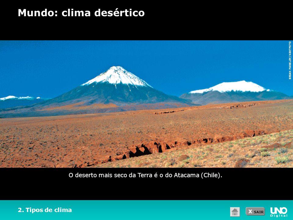 Mundo: clima desértico