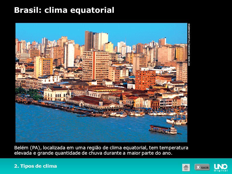 Brasil: clima equatorial