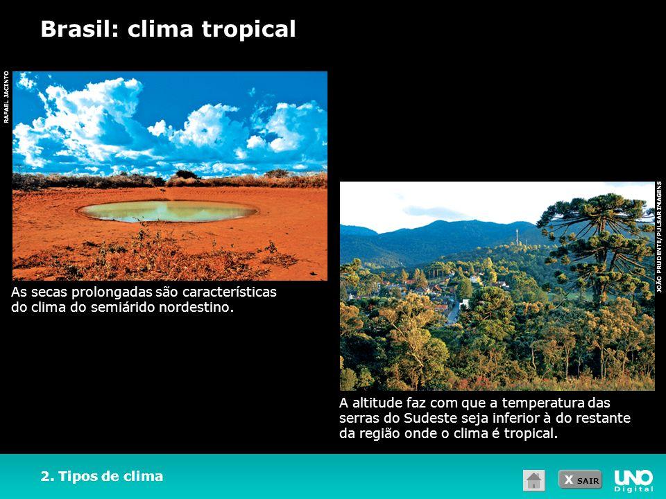 Brasil: clima tropical
