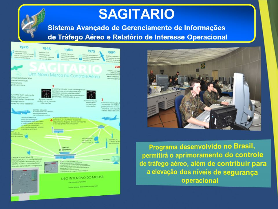 SAGITARIO Sistema Avançado de Gerenciamento de Informações