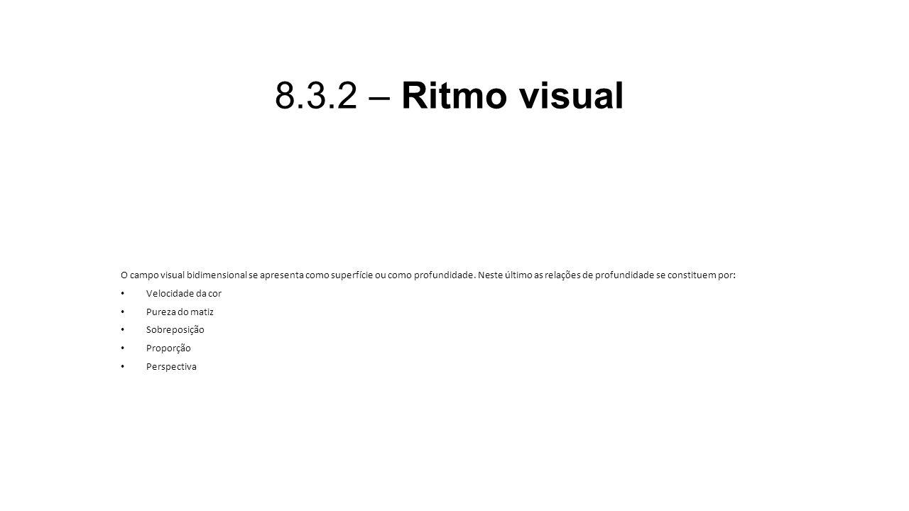 8.3.2 – Ritmo visual