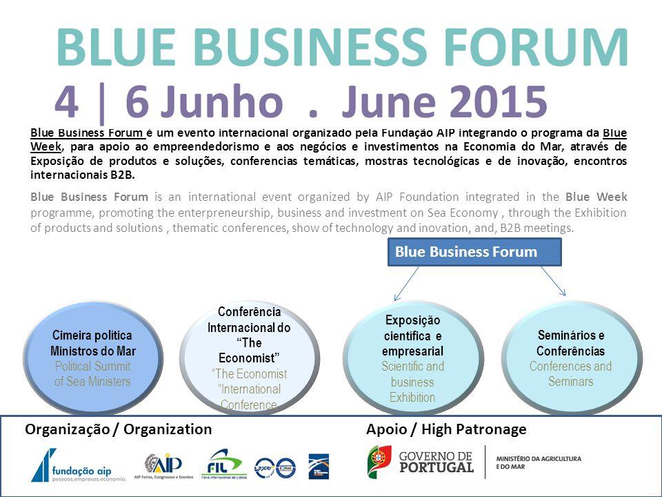 Seminários e Conferências Exposição científica e empresarial