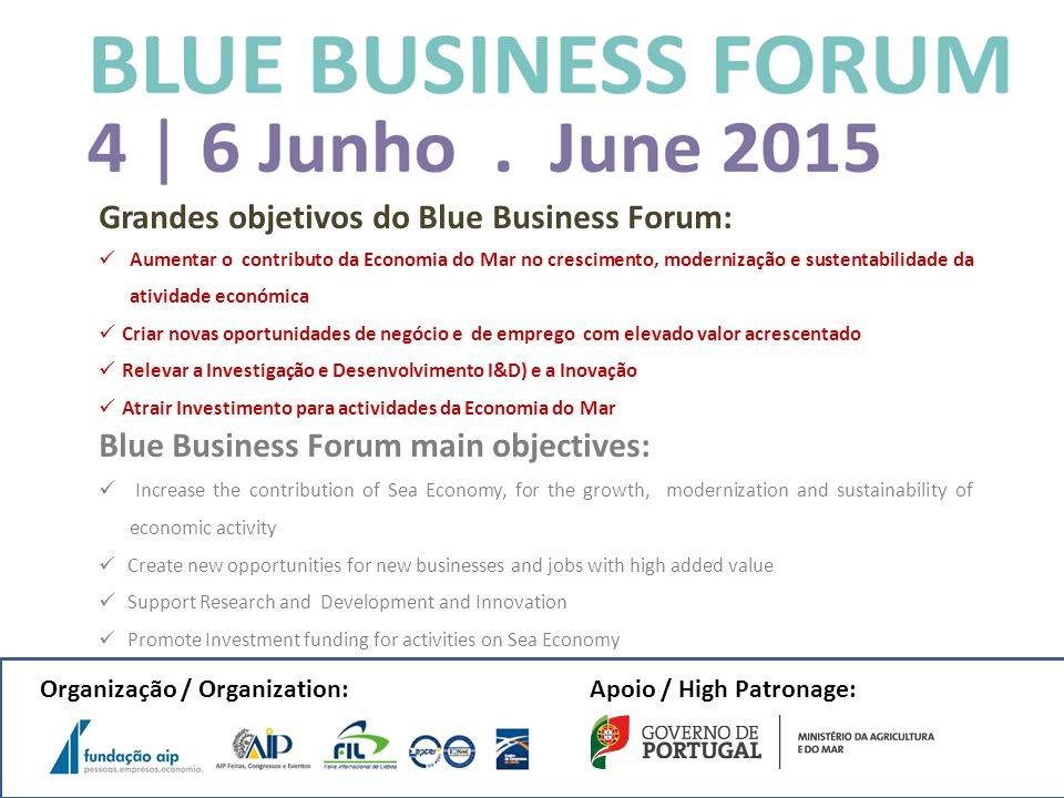 Grandes objetivos do Blue Business Forum: