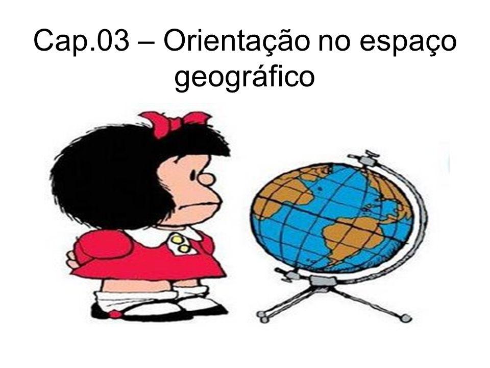 Cap.03 – Orientação no espaço geográfico