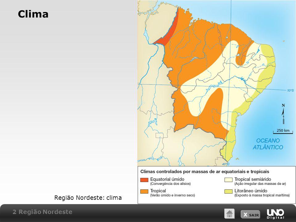 Clima Região Nordeste: clima 2 Região Nordeste