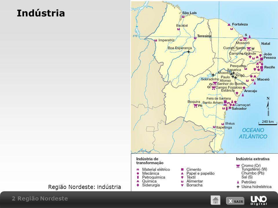 Indústria Região Nordeste: indústria 2 Região Nordeste