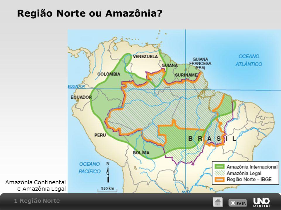 Região Norte ou Amazônia
