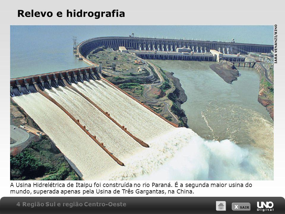 Relevo e hidrografia IARA VENANZI/KINO.