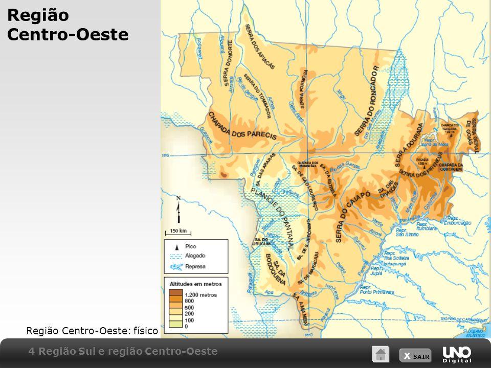 Região Centro-Oeste Região Centro-Oeste: físico
