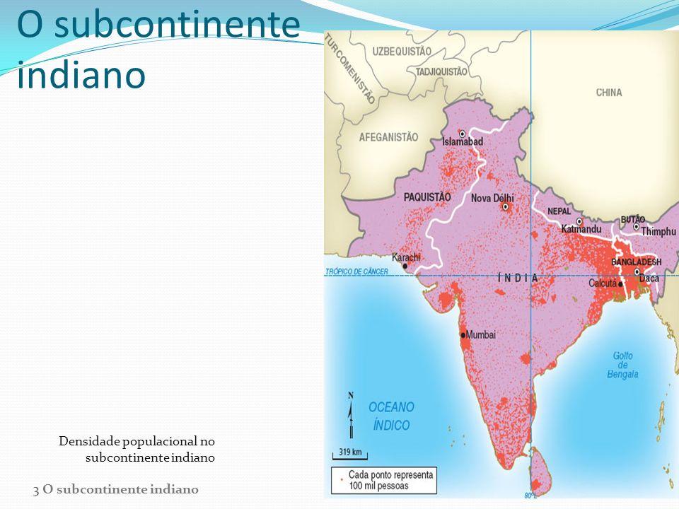 O subcontinente indiano