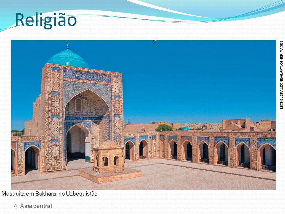Religião Mesquita em Bukhara, no Uzbequistão 4 Ásia central