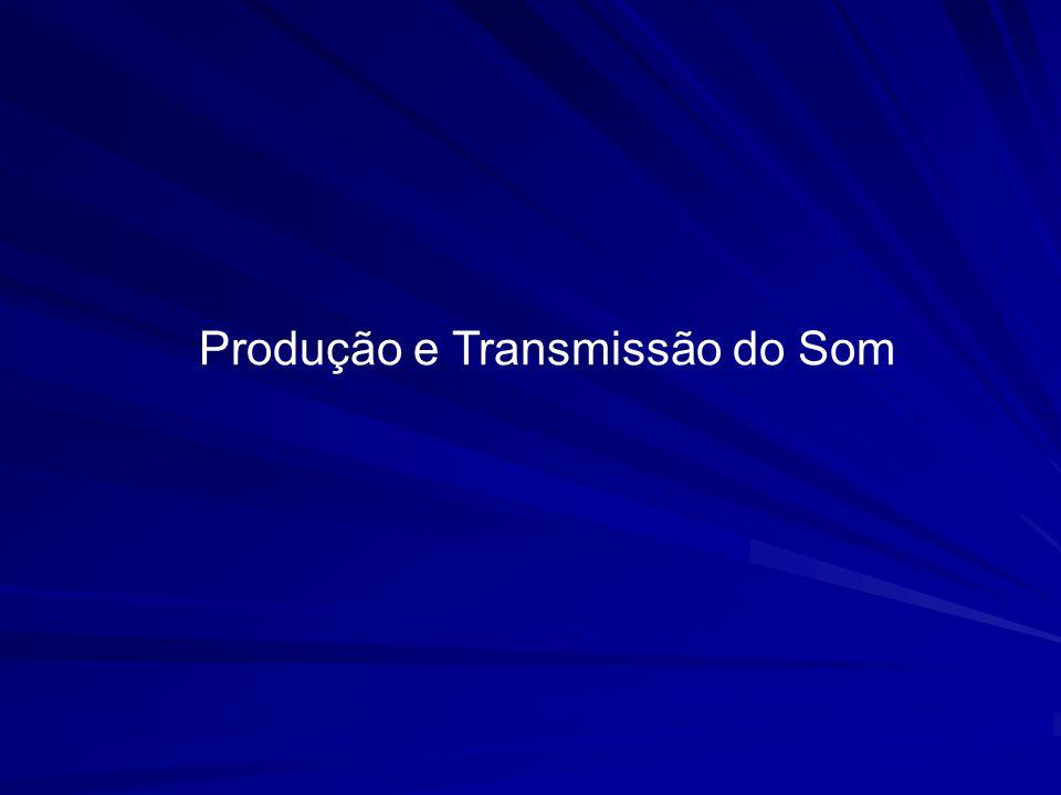 Produção e Transmissão do Som