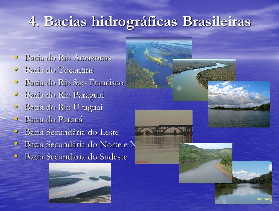 4. Bacias hidrográficas Brasileiras