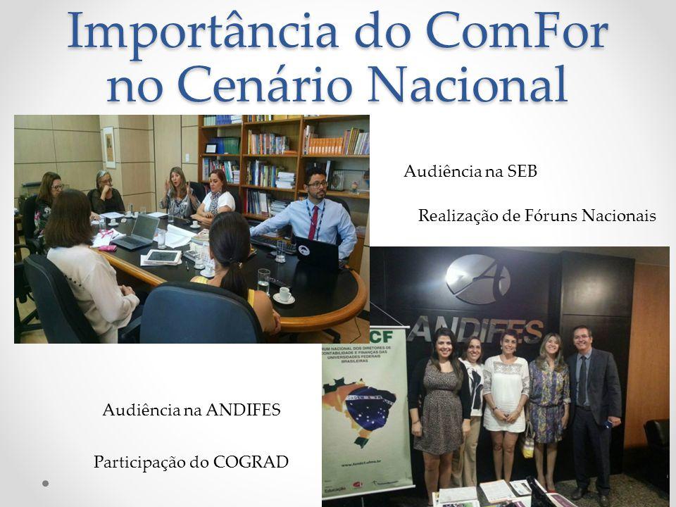 Importância do ComFor no Cenário Nacional
