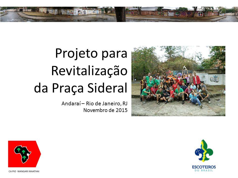da Praça Sideral Andaraí – Rio de Janeiro, RJ