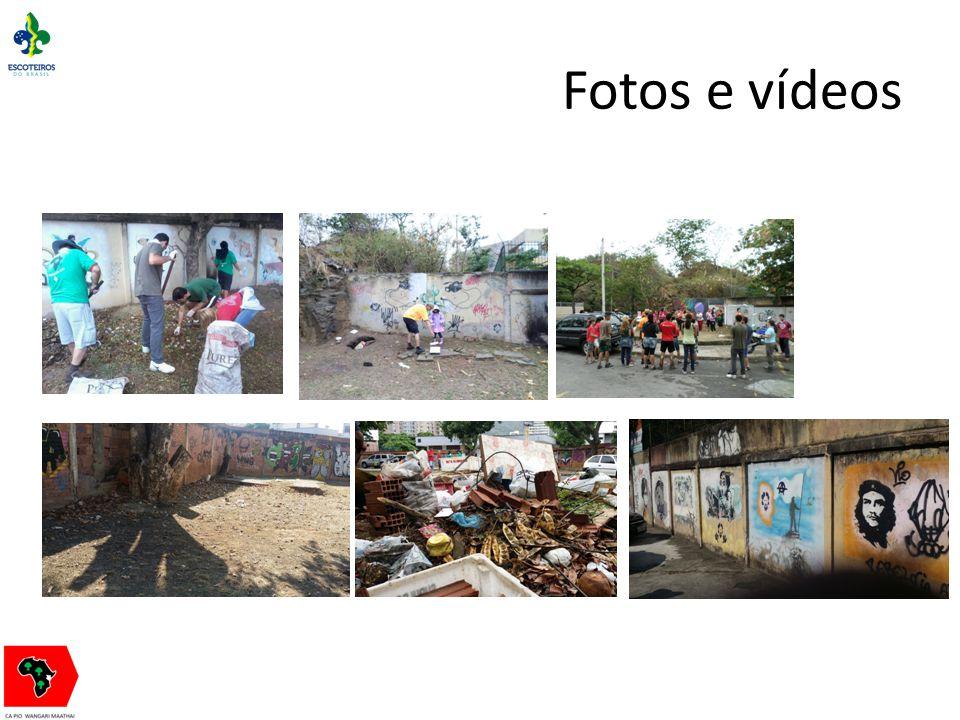 Fotos e vídeos