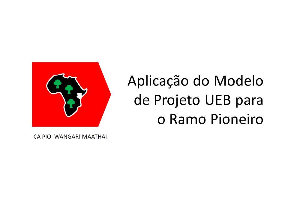 Aplicação do Modelo de Projeto UEB para o Ramo Pioneiro