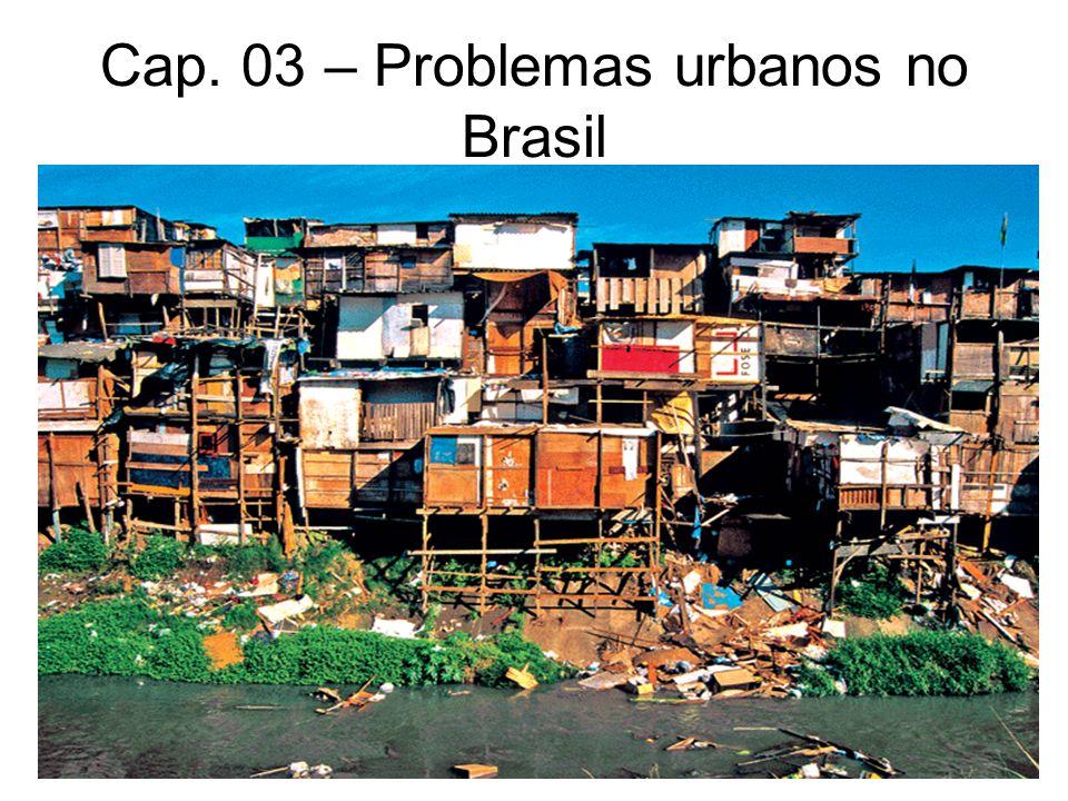 Cap. 03 – Problemas urbanos no Brasil