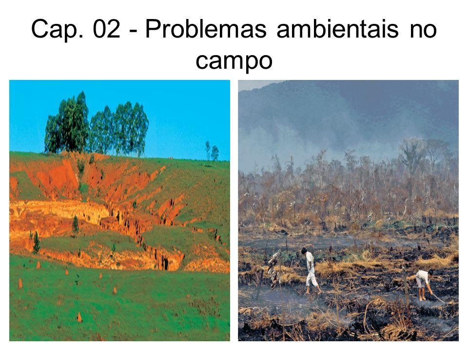 Cap. 02 - Problemas ambientais no campo