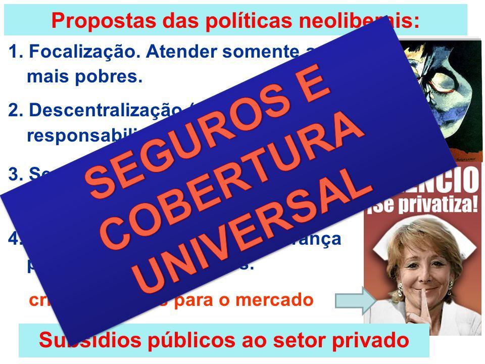 SEGUROS E COBERTURA UNIVERSAL