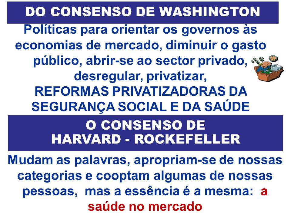 DO CONSENSO DE WASHINGTON