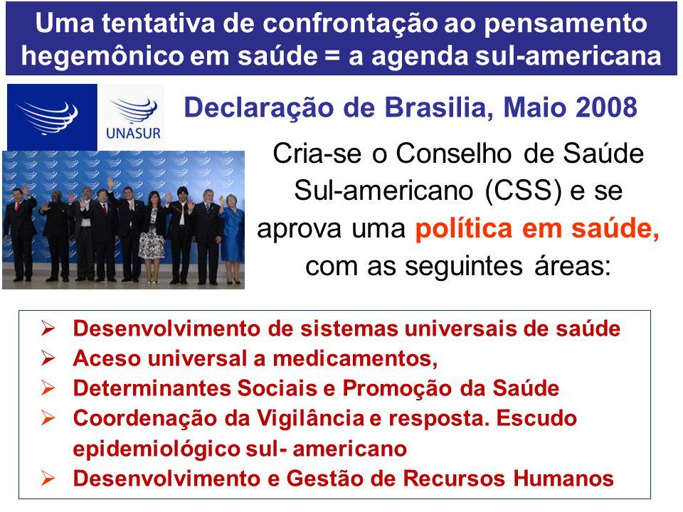 Declaração de Brasilia, Maio 2008