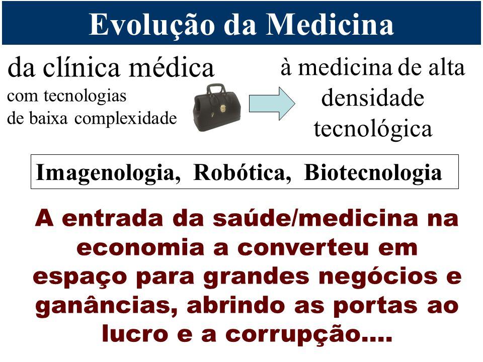 à medicina de alta densidade tecnológica