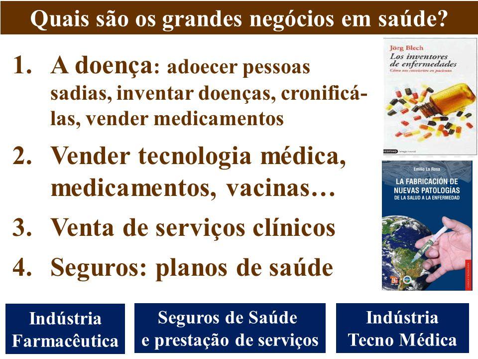 Vender tecnologia médica, medicamentos, vacinas…