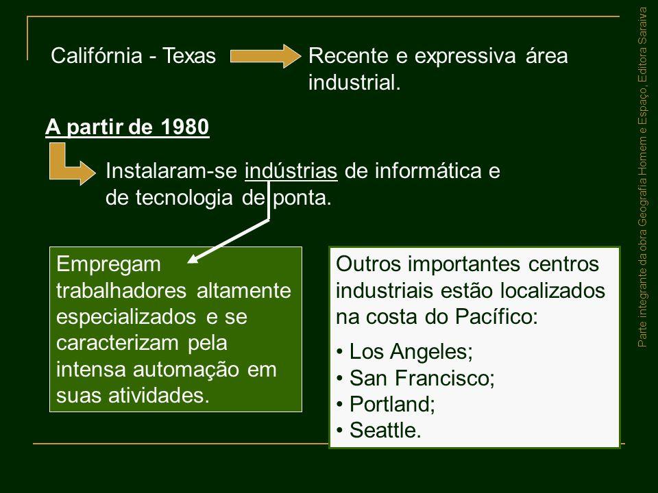 Recente e expressiva área industrial.
